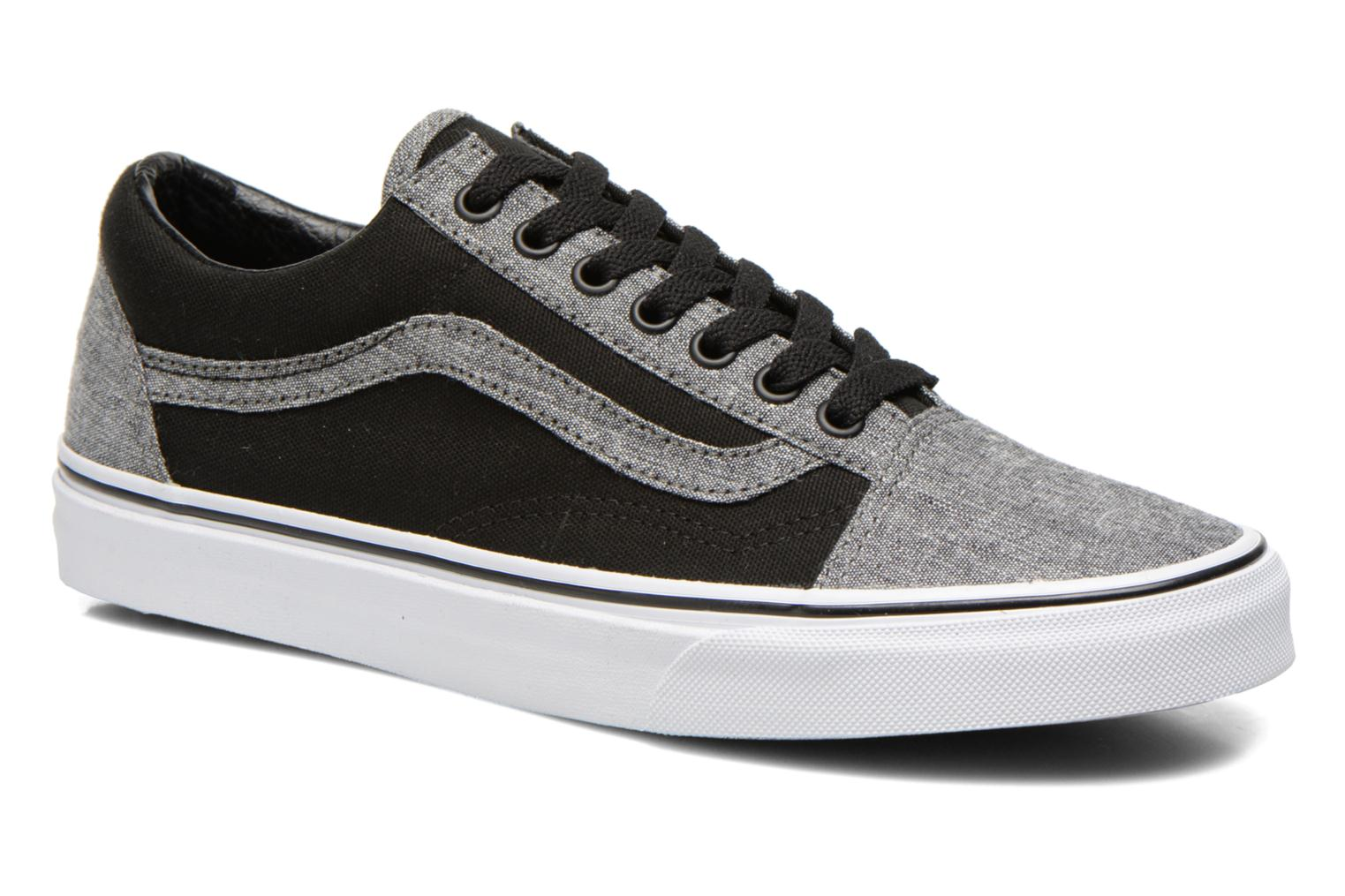 baskets vans pour homme gris disponibles en. Black Bedroom Furniture Sets. Home Design Ideas