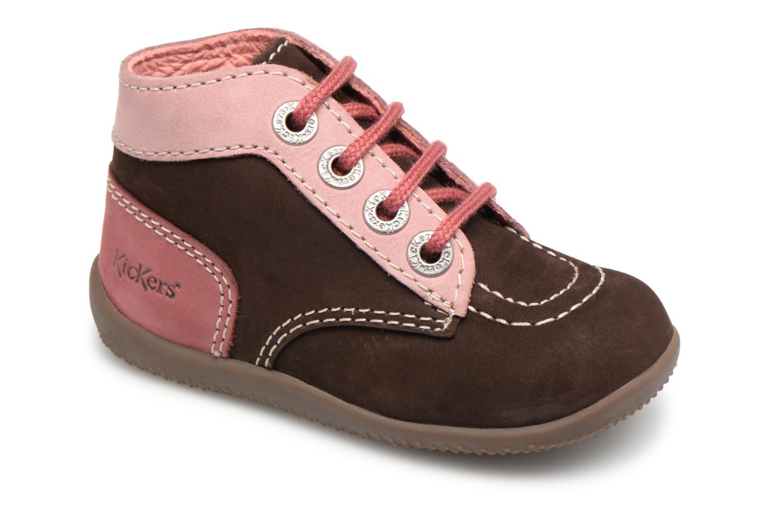 Boots en enkellaarsjes Kickers Bruin