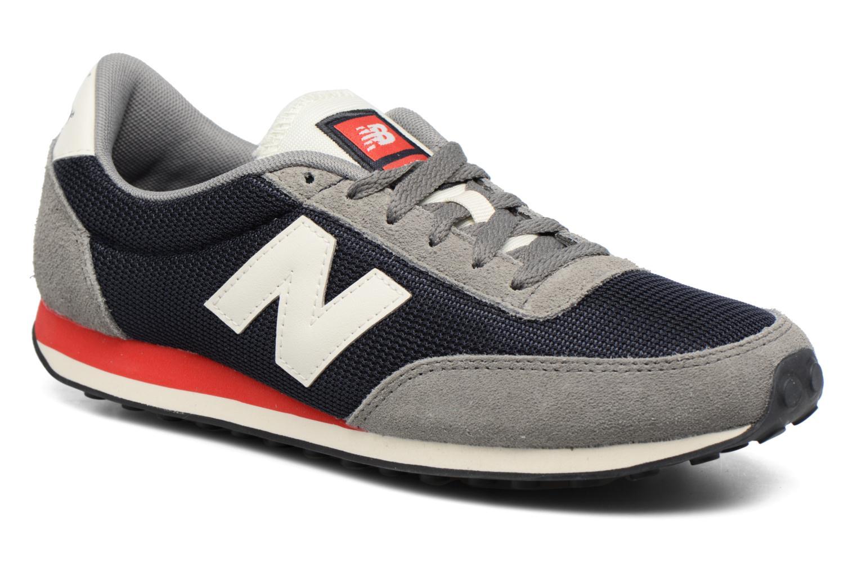 New Balance U410 Grau Rot