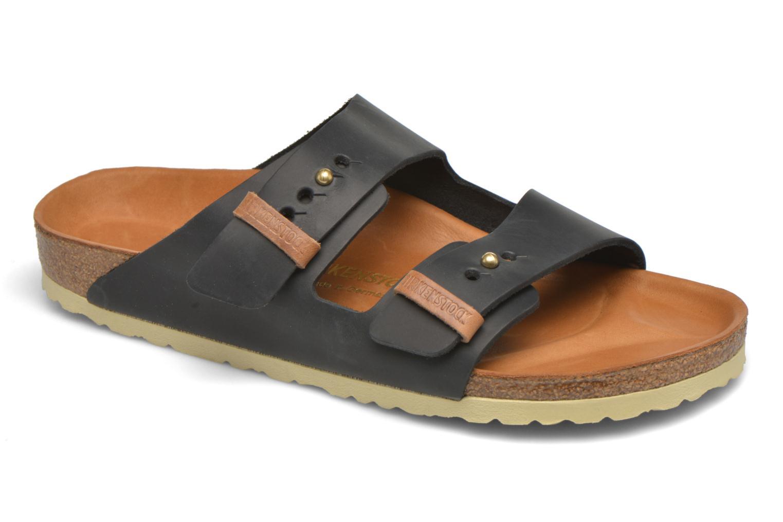 birkenstock arizona cuir m sandalen f r herren schwarz birkenstock. Black Bedroom Furniture Sets. Home Design Ideas
