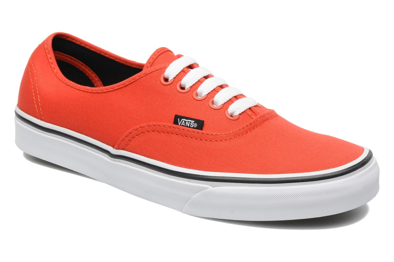 Zapatillas de hombre color rojo de Vans