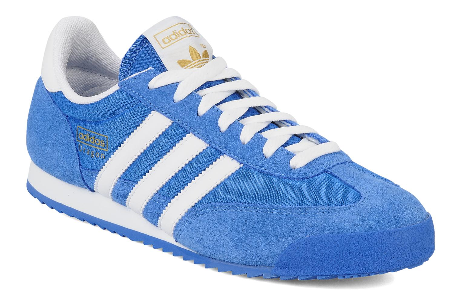 zapatillas adidas dragon azules