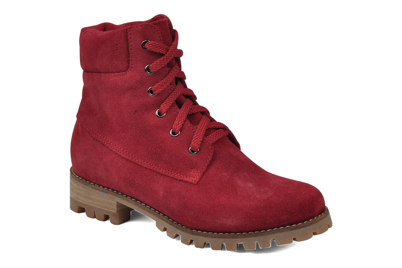 Boots en enkellaarsjes Rose & Martin Rood