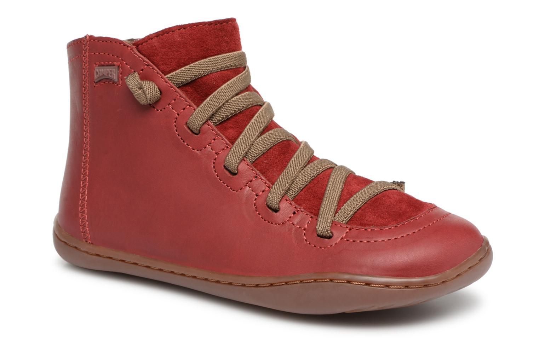 Boots en enkellaarsjes Camper Rood