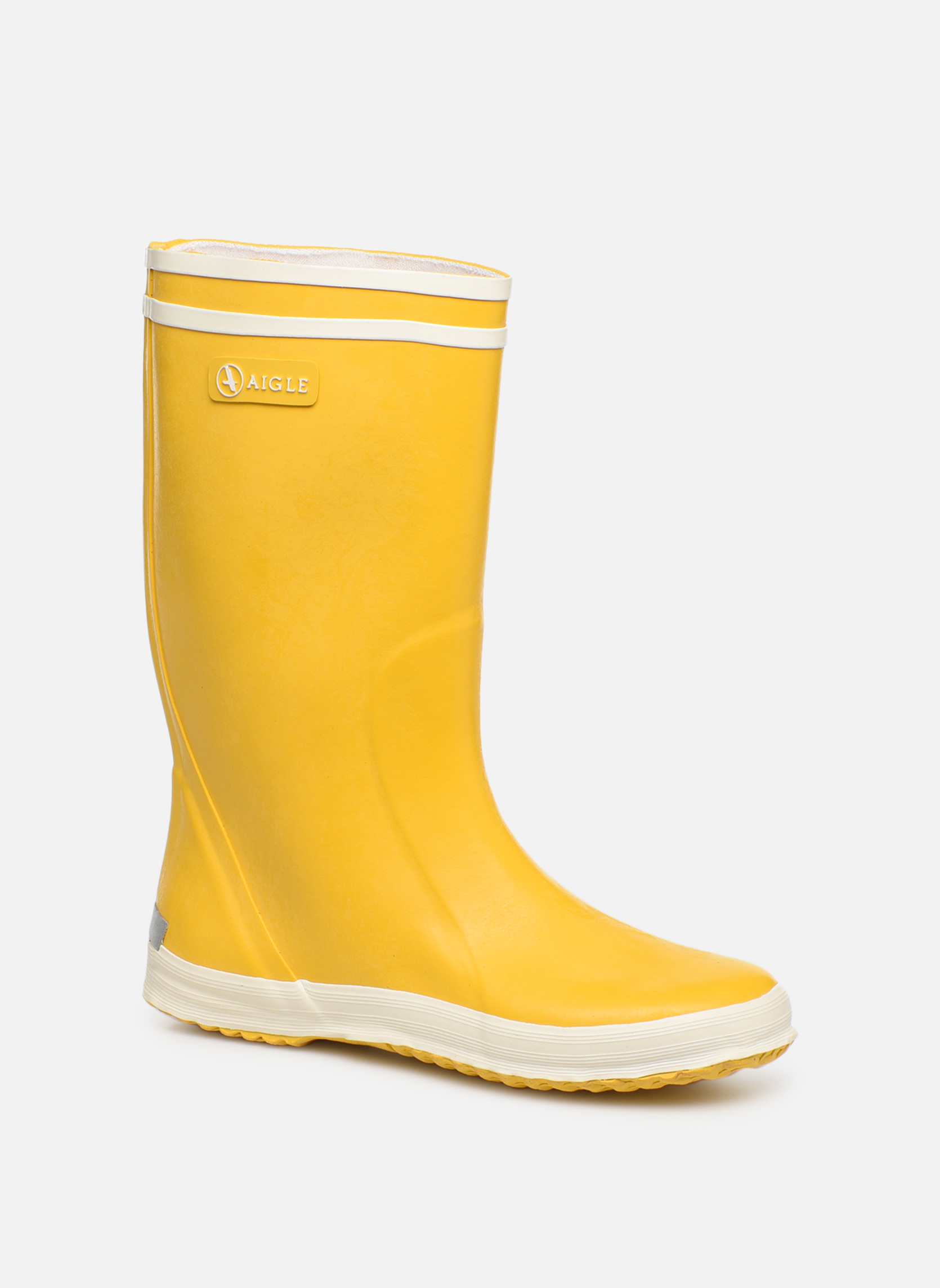 Boots en enkellaarsjes Aigle Geel