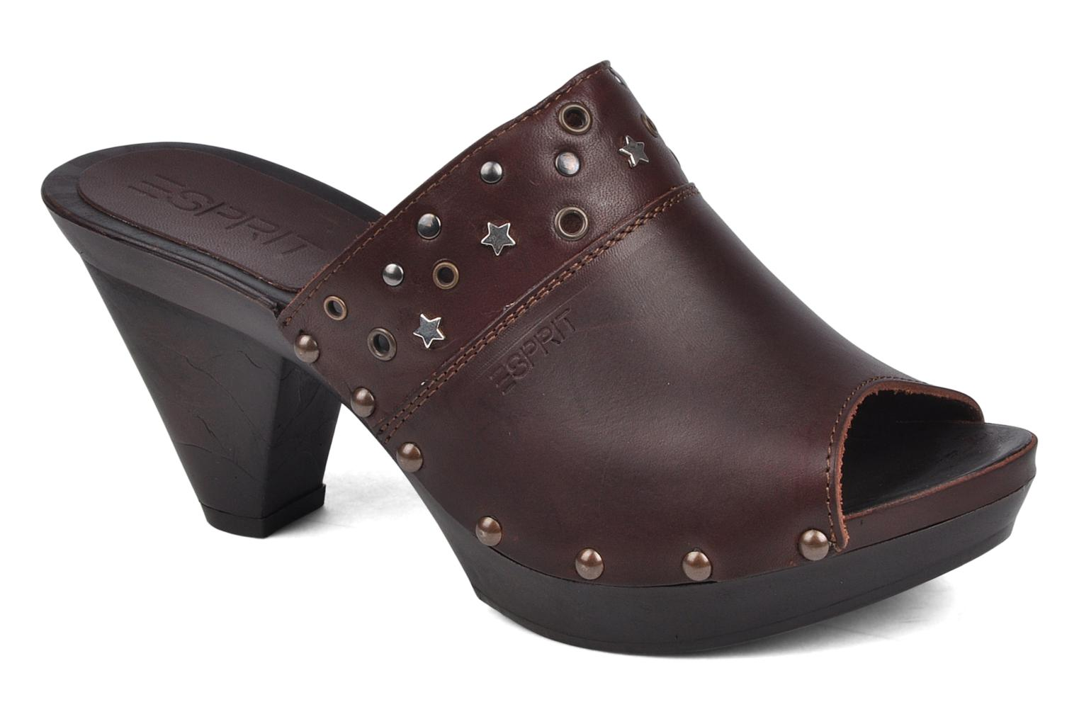 Aghina studs clog by Esprit