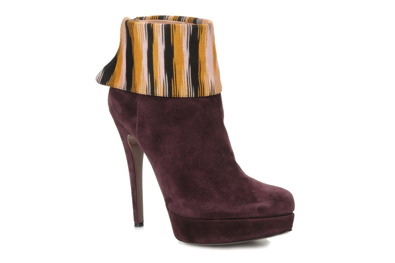 Boots en enkellaarsjes Missoni Bordeaux