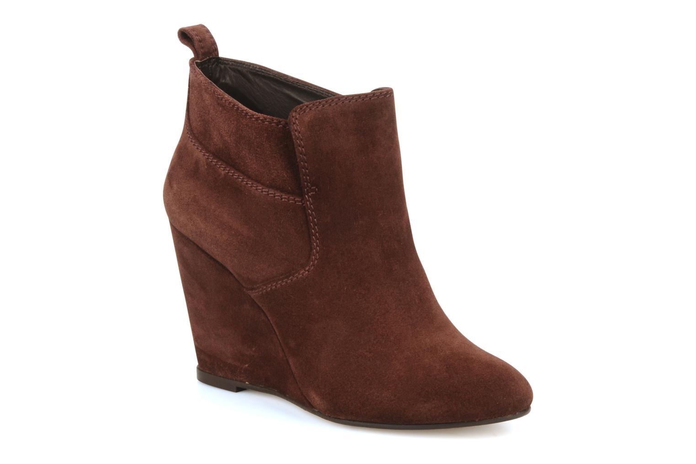 Boots en enkellaarsjes Wedge booty stitch suede by Tila March