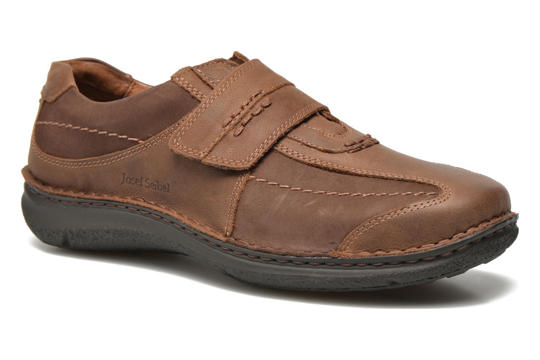 Schoenen met klitteband Josef Seibel Bruin