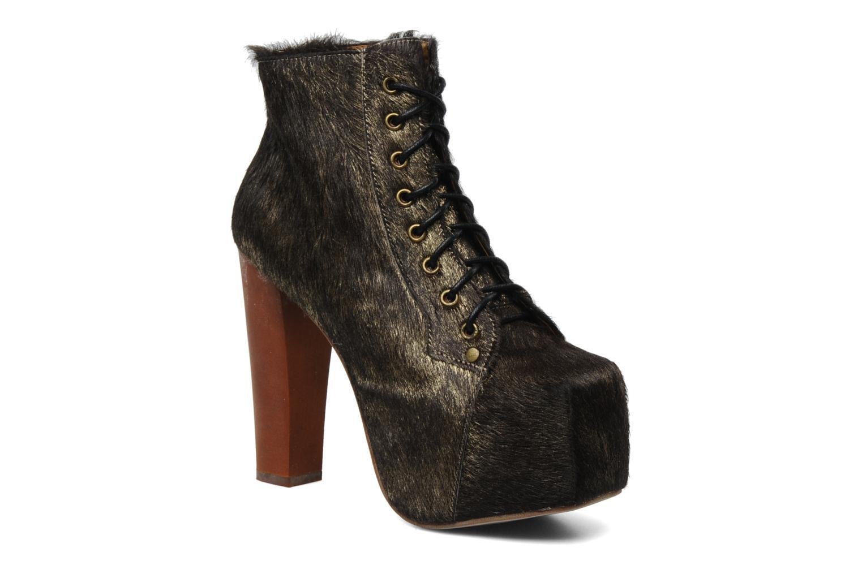 Boots en enkellaarsjes Jeffrey Campbell Goud en brons