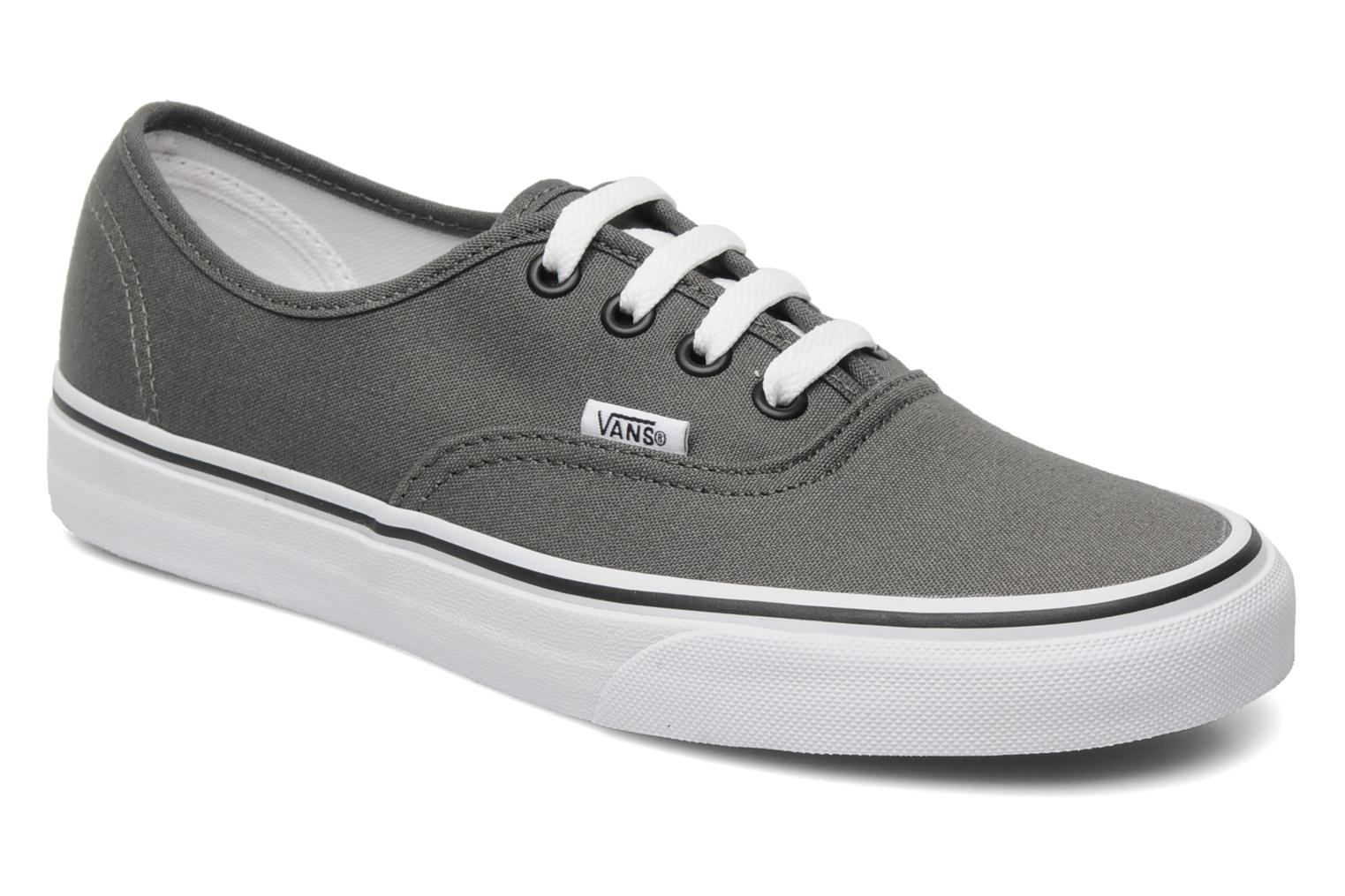 vans authentic szare