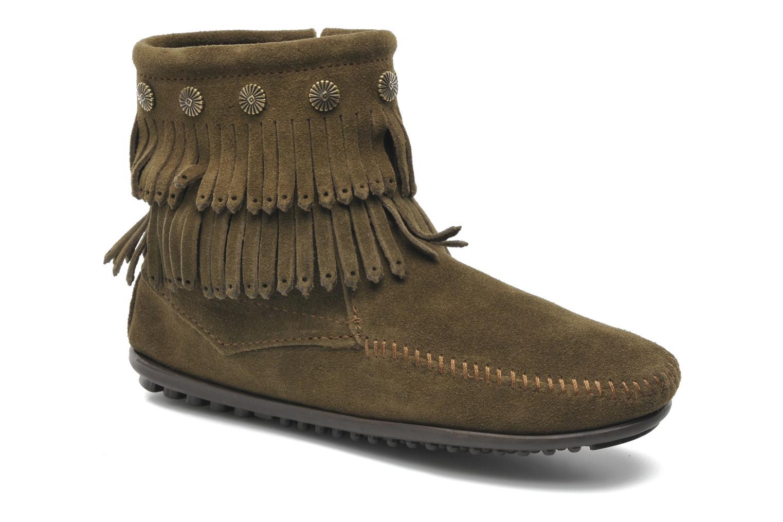 Boots en enkellaarsjes Minnetonka Groen