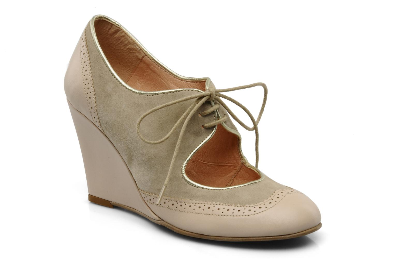 Kenglish Leather Wedge