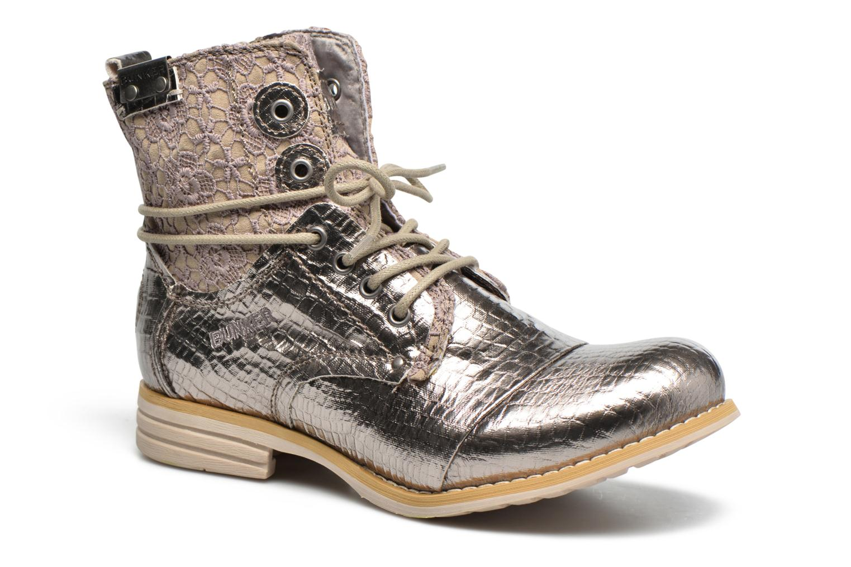 Boots en enkellaarsjes Bunker Zilver