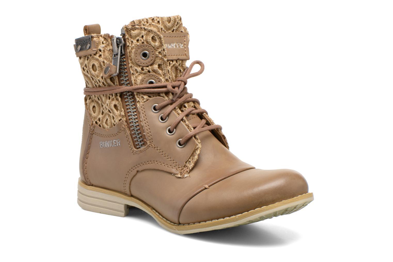 Boots en enkellaarsjes Bunker Bruin