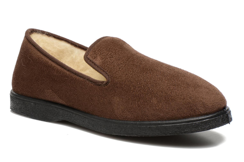 Pantoffels Rondinaud Bruin
