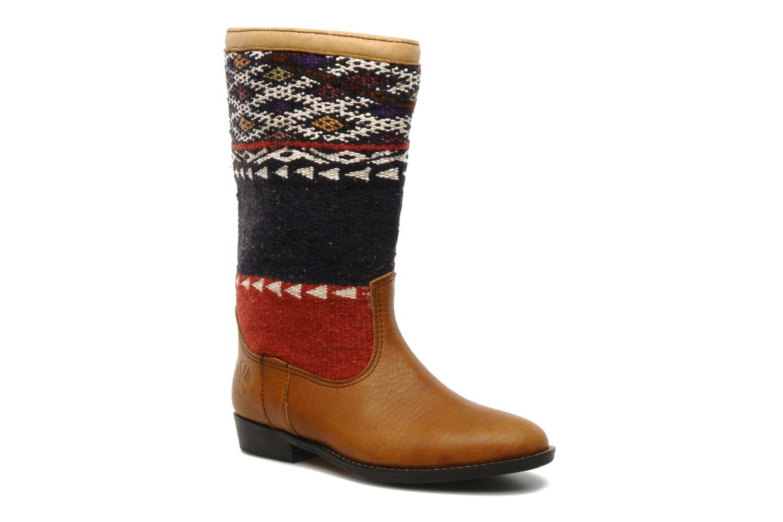 Boots en enkellaarsjes Kiboots Bruin