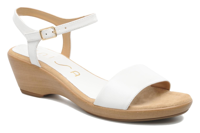 unisa irita sandalen f r damen wei marke unisa. Black Bedroom Furniture Sets. Home Design Ideas
