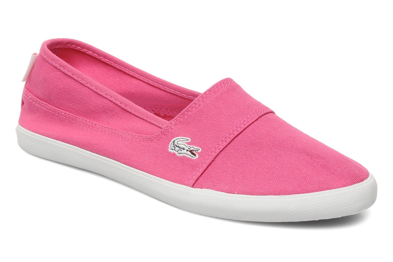 Alpargatas de mujer color rosa de Lacoste