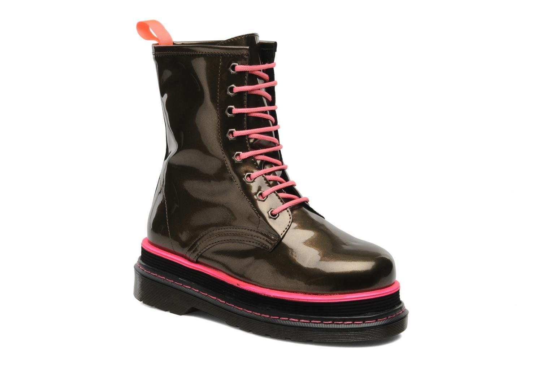 Boots en enkellaarsjes Buffalo Goud en brons