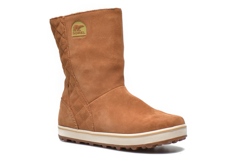 sorel glacy stiefeletten boots f r damen braun bei sarenza g nstig schnell einkaufen. Black Bedroom Furniture Sets. Home Design Ideas