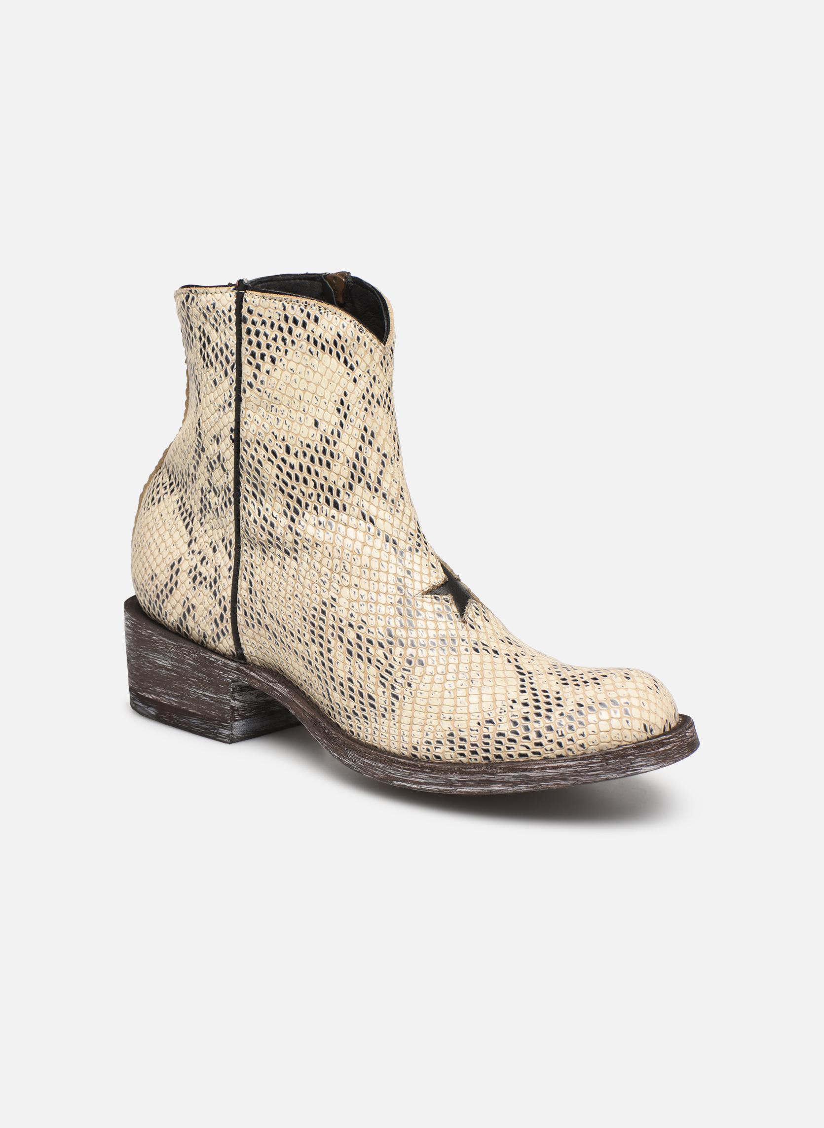 Boots en enkellaarsjes Mexicana Wit