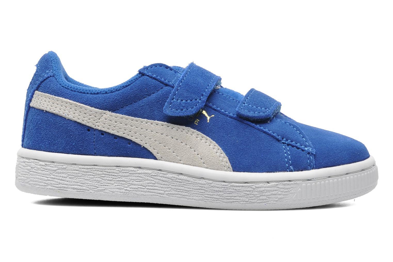 Dettagli su Bambino Puma Suede 2 Straps Kids Sneakers Azzurro