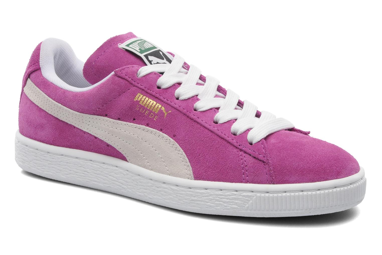 puma suede classic wn 39 s sneaker f r damen rosa. Black Bedroom Furniture Sets. Home Design Ideas