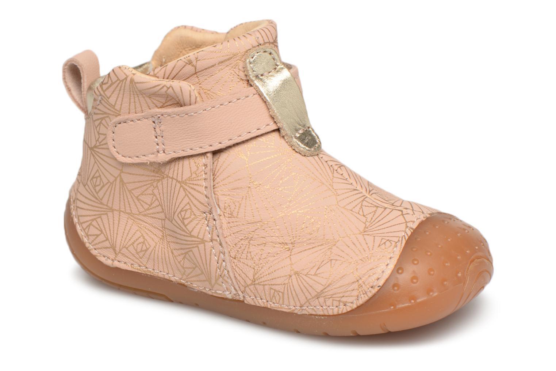 Schoenen met klitteband Babybotte Roze