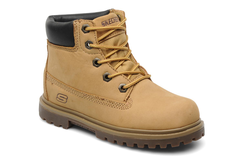 Boots en enkellaarsjes Skechers Geel