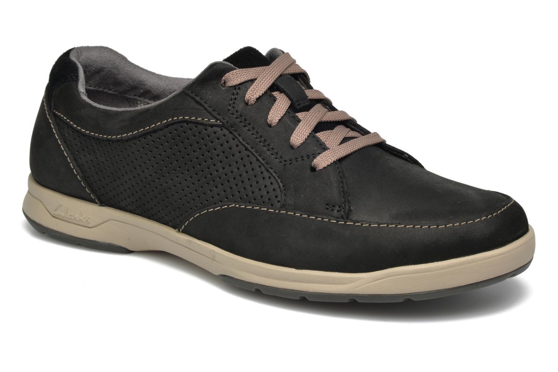 Sneakers Clarks Unstructured Zwart