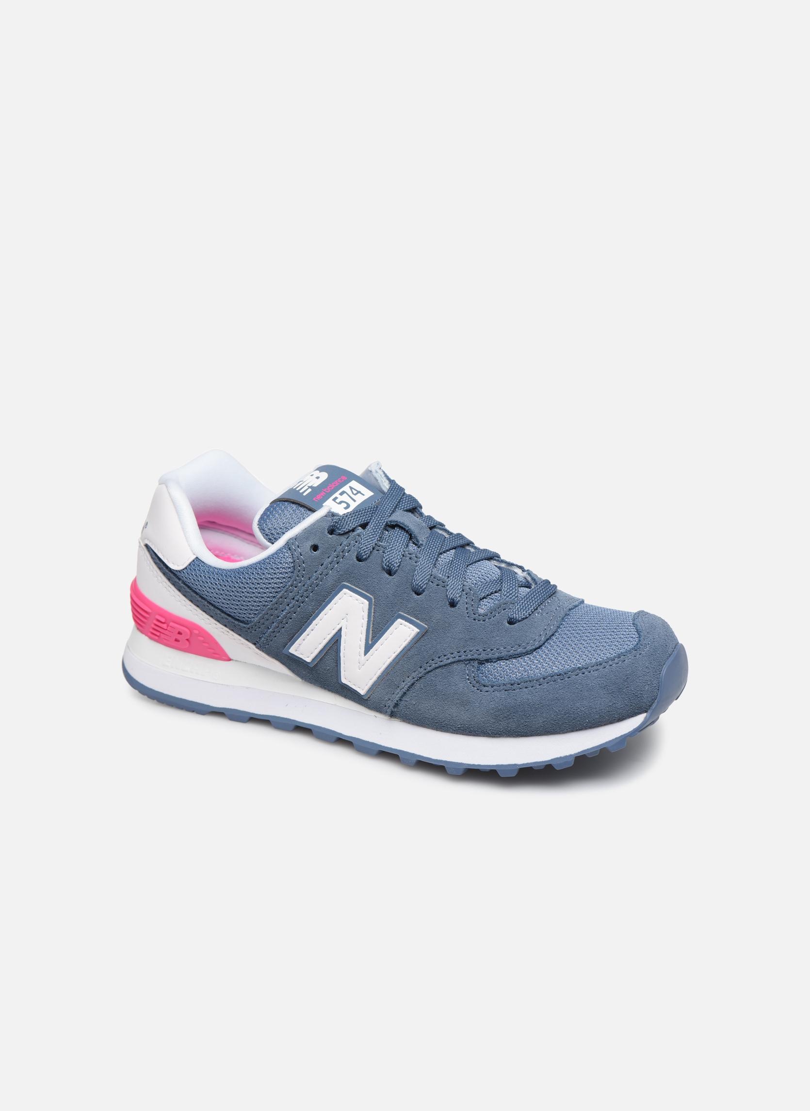 New Balance KL574 Beach Cruiser Grade - K - Puntera para botas y zapatos de Piel, color Azul, talla 37 EU