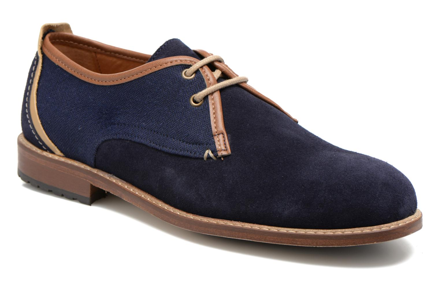 Veterschoenen Léon Suede by M. Moustache