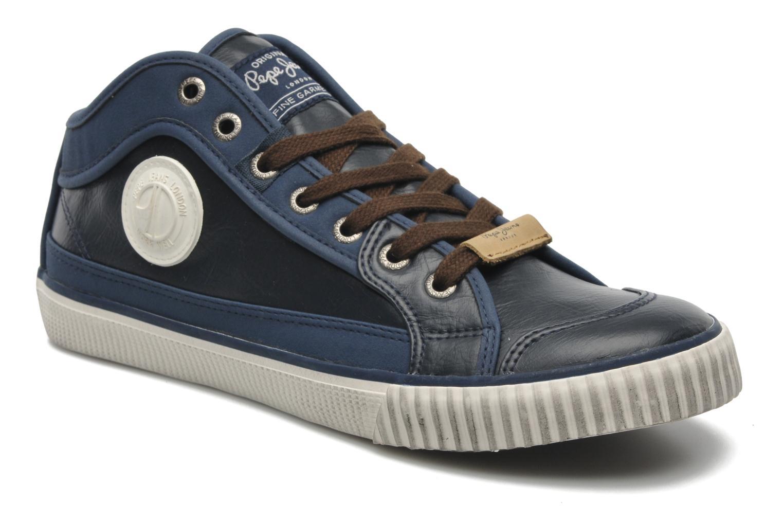 Pepe jeans - Industry Pu - Sneaker für Herren / blau