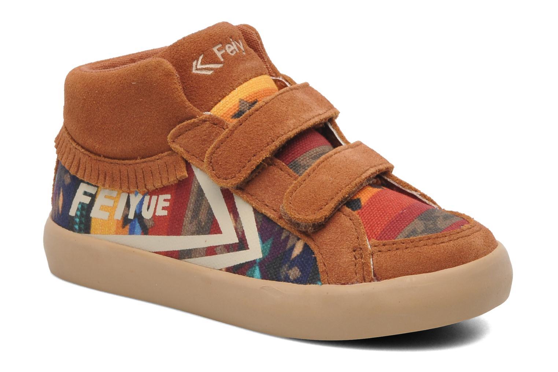 Sneakers DELTA MID SCRATCH PATTERN by Feiyue