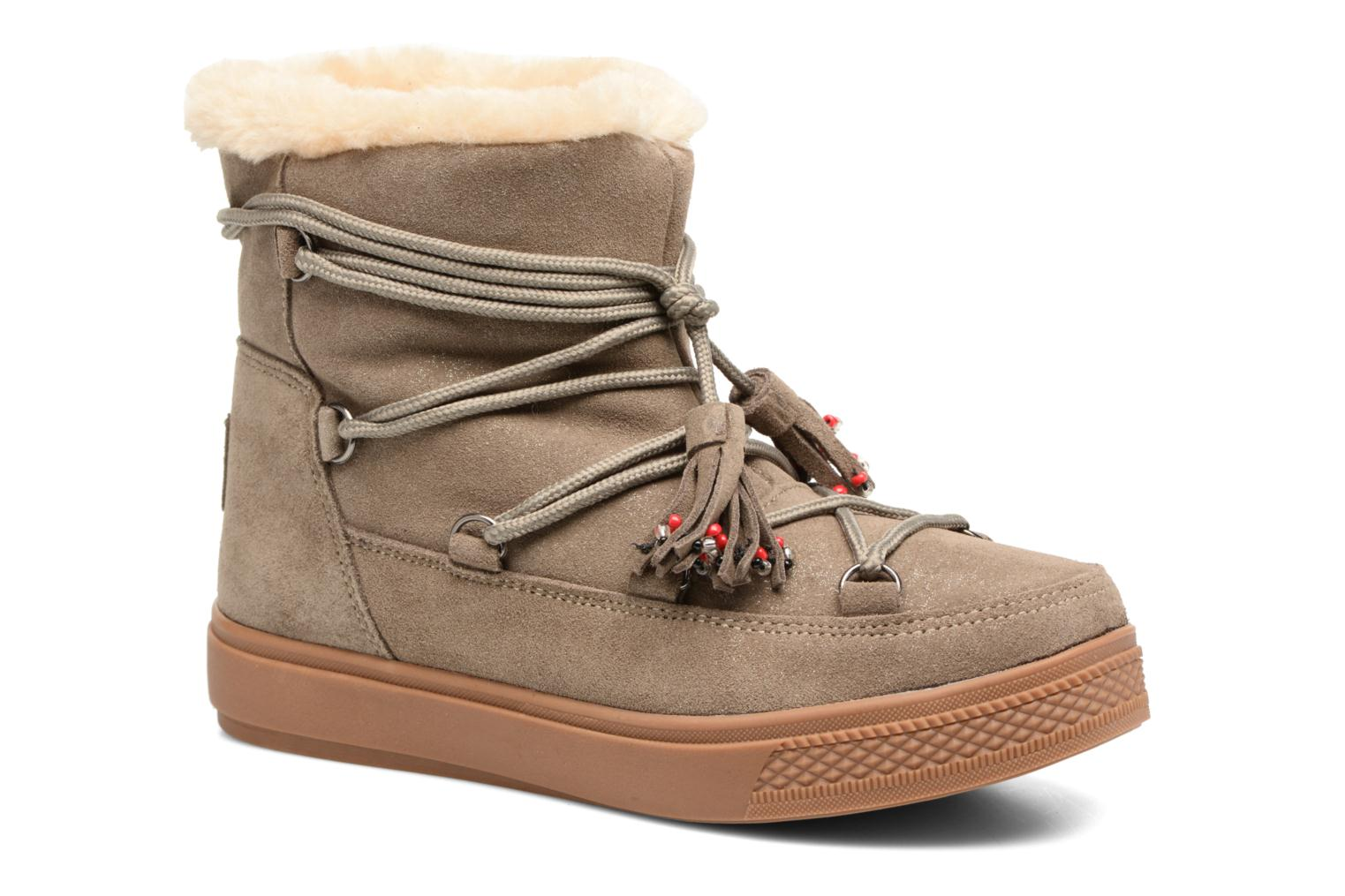 Boots en enkellaarsjes Colors of California Beige