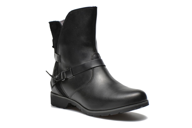 Boots en enkellaarsjes Teva Zwart
