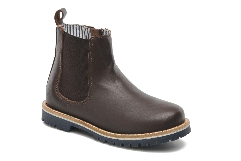 Boots en enkellaarsjes BOOTS TWEET CUIR by Petit bateau