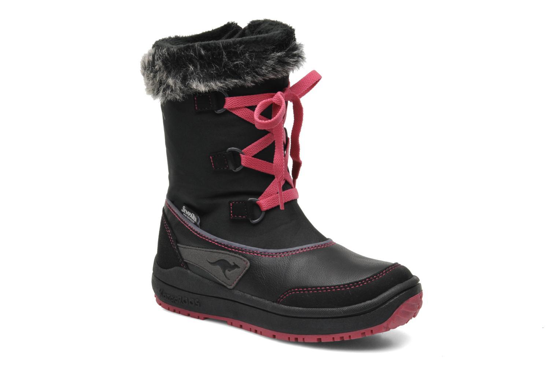 Boots en enkellaarsjes Kangaroos Zwart