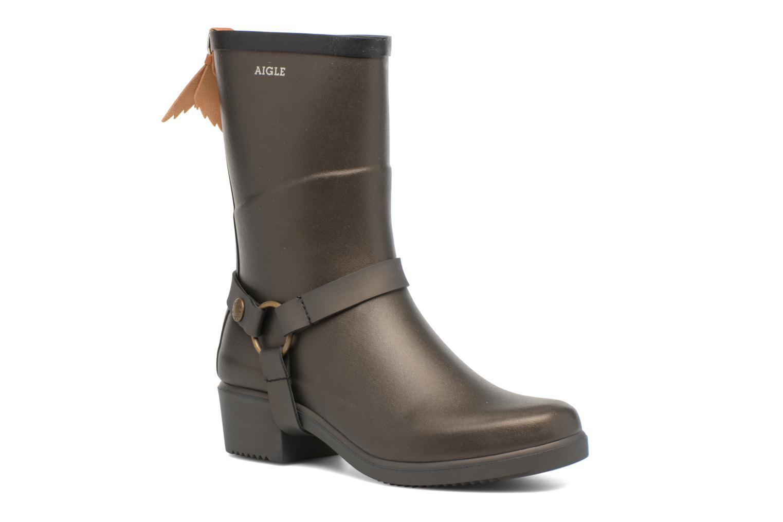 Boots en enkellaarsjes Aigle Goud en brons