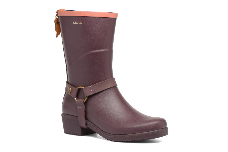 Boots en enkellaarsjes Aigle Paars
