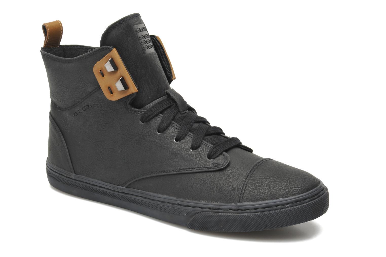 geox d new club g d4458g sneaker f r damen schwarz marke geox. Black Bedroom Furniture Sets. Home Design Ideas