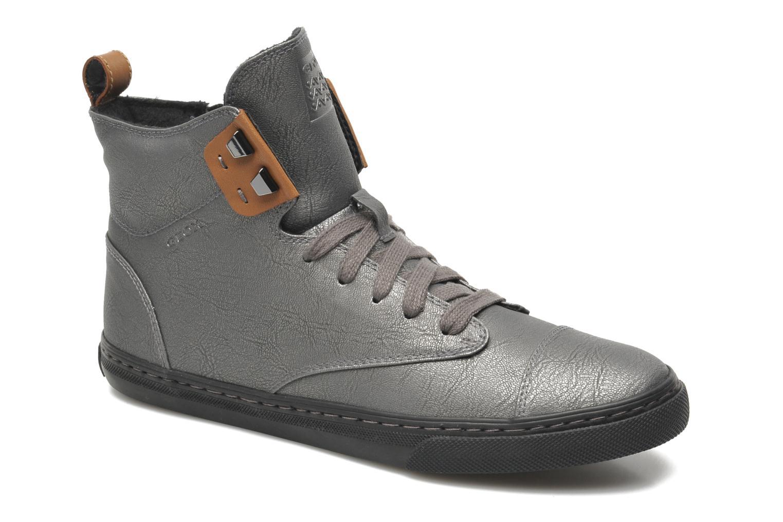 geox d new club g d4458g sneaker f r damen grau. Black Bedroom Furniture Sets. Home Design Ideas