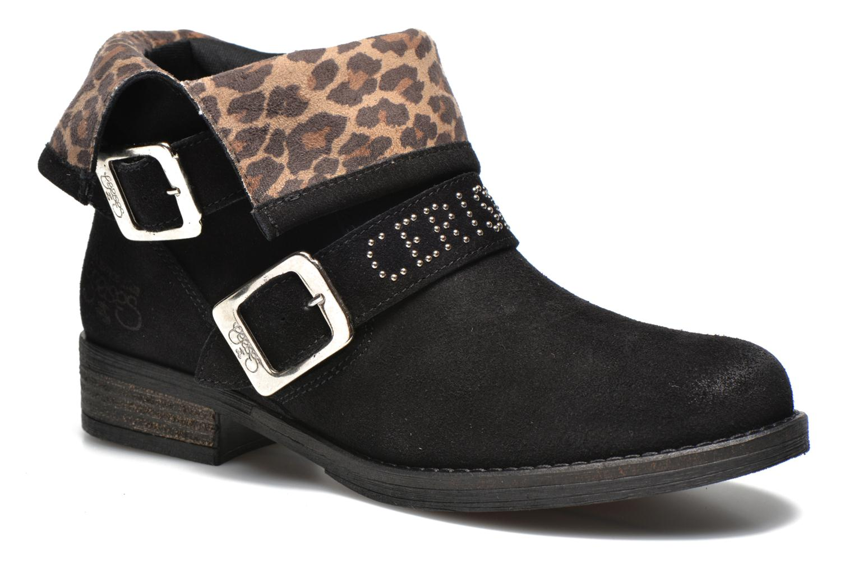 Boots en enkellaarsjes Le temps des cerises Zwart