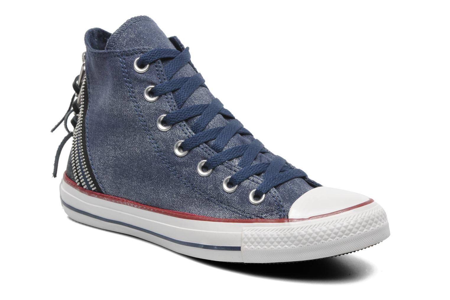 converse chuck taylor sparkle wash tri zip hi w. Black Bedroom Furniture Sets. Home Design Ideas