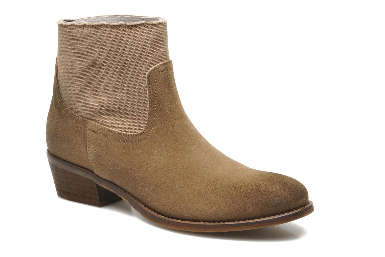 Boots en enkellaarsjes Méliné Bruin