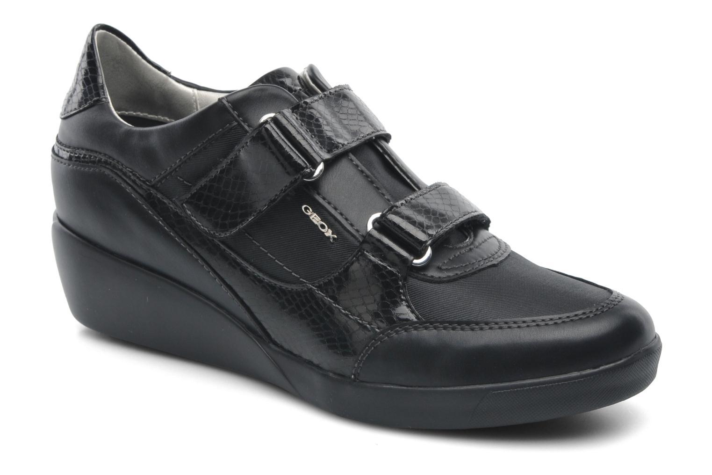 geox d tieta a d5235a sneaker f r damen schwarz marke geox. Black Bedroom Furniture Sets. Home Design Ideas
