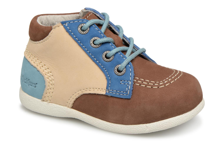 Boots en enkellaarsjes Kickers Beige