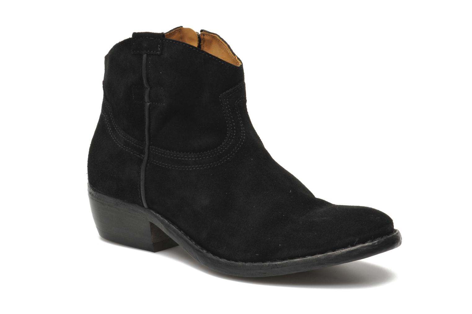Boots en enkellaarsjes MEGAN ZIP BOOT SUEDE by Catarina Martins
