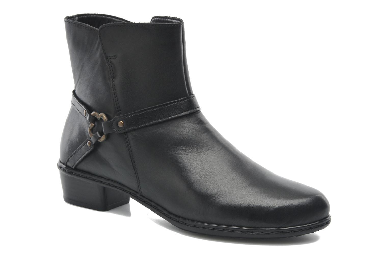 Boots en enkellaarsjes Rieker Zwart